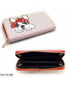 WALLET WITH DOG