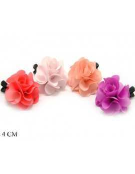 COLORED FLOWER FABRIC...